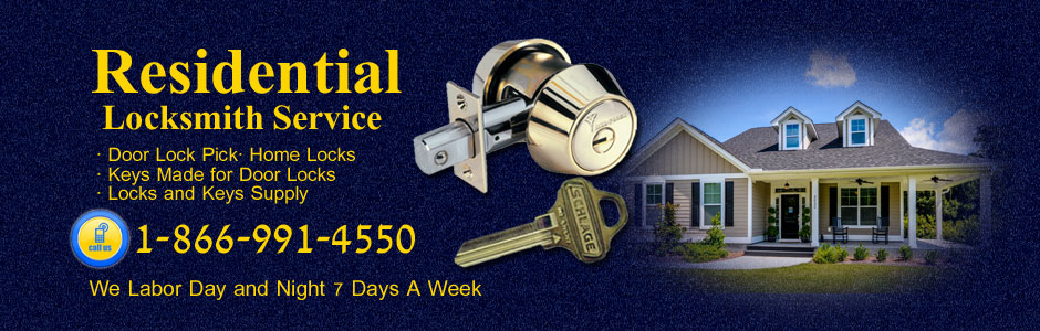 Residential Locksmith services All over the bay area